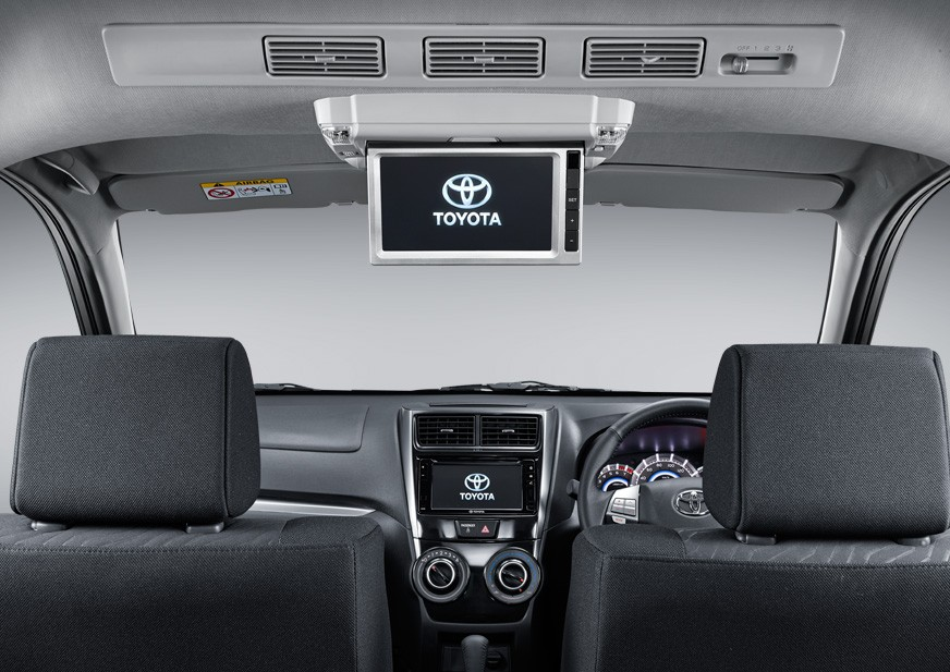 Rear Seat Entertaiment Dealer Toyota Nasmoco Mlati Jogja